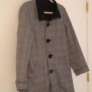 Anne Klein reversible coat size Large.